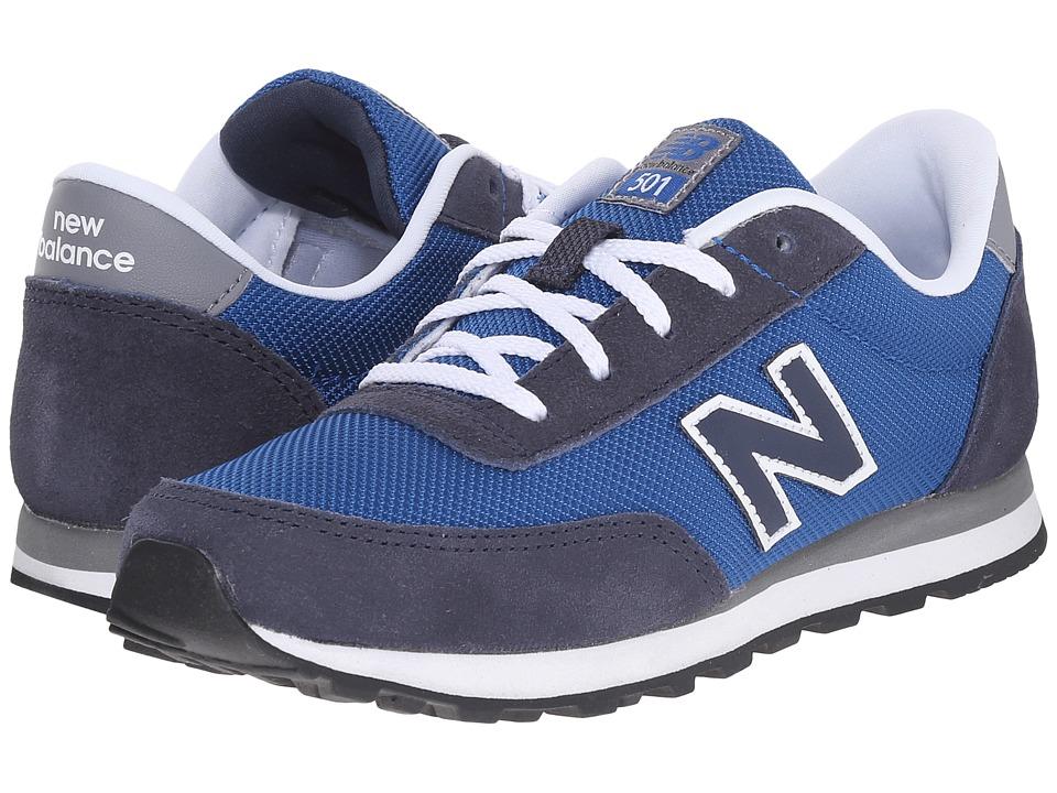 New Balance Kids - 501 (Little Kid/Big Kid) (Blue Navy) Boys Shoes