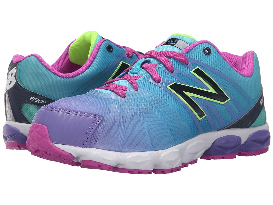 New Balance Kids 890v4 (Big Kid) (Blue) Girls Shoes