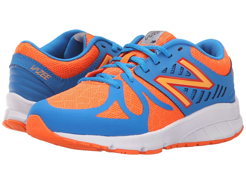 New Balance Kids - Vazee Rush (Big Kid) (Orange/Blue) Boys Shoes