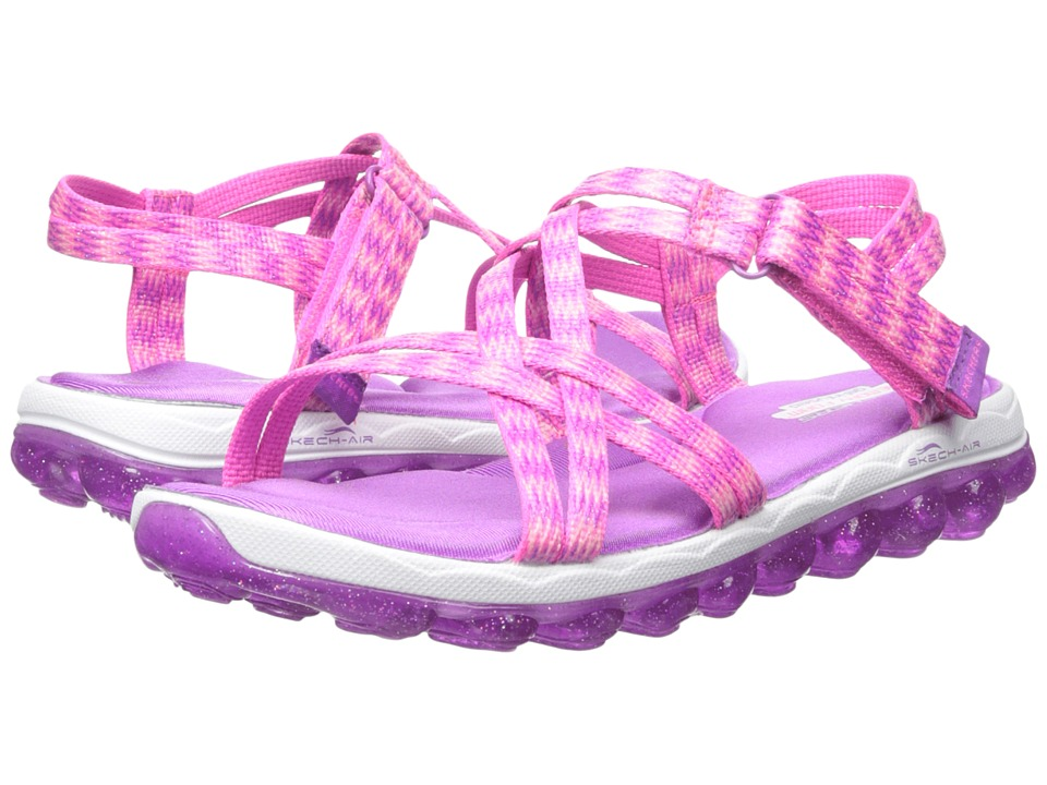 SKECHERS KIDS - Skech Air 80348L (Little Kid/Big Kid) (Pink/Purple) Girl's Shoes