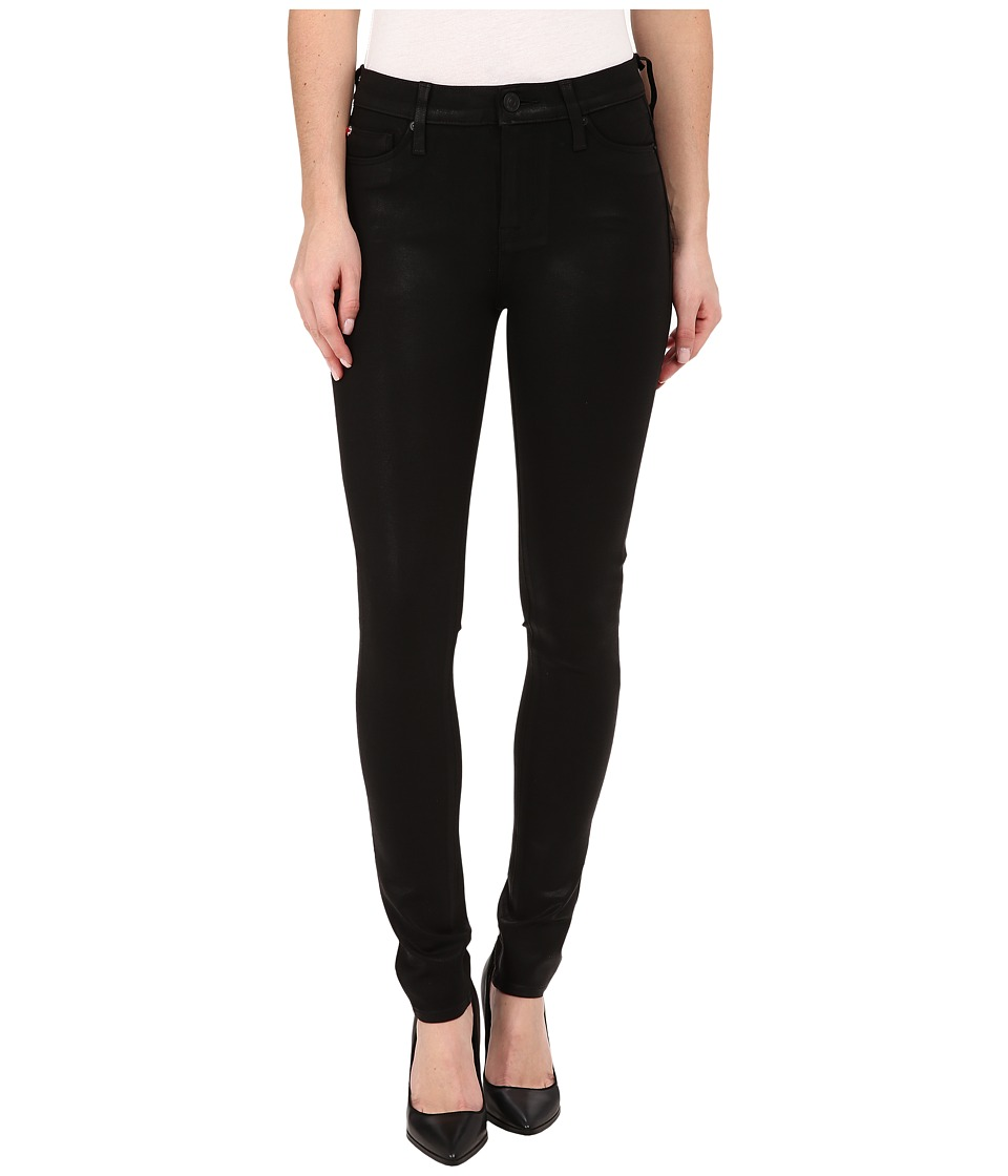 Hudson - Nico Mid-Rise Super Skinny in Waxed Odin (Waxed Odin) Women's Jeans