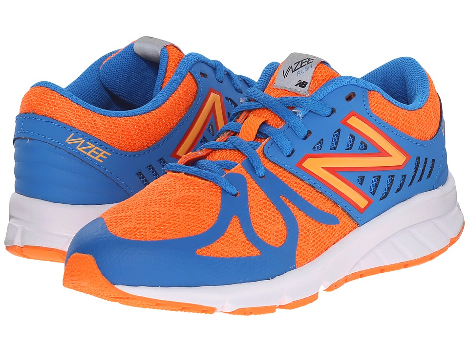 New Balance Kids - Vazee Rush (Little Kid) (Orange/Blue) Boys Shoes