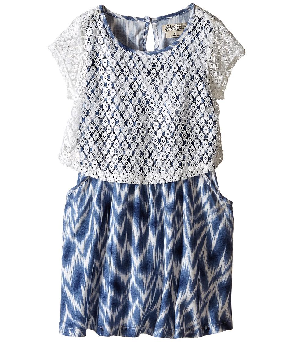Lucky Brand Kids - Lace Dress (Little Kids) (Gardenia) Girl's Dress