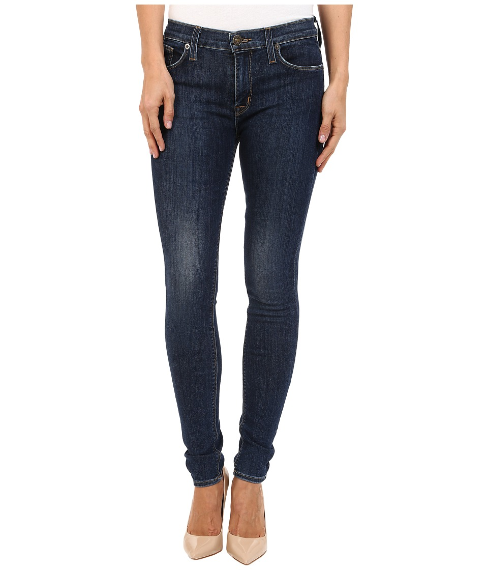 Hudson - Nico Mid-Rise Super Skinny in Free State (Free State) Women's Jeans
