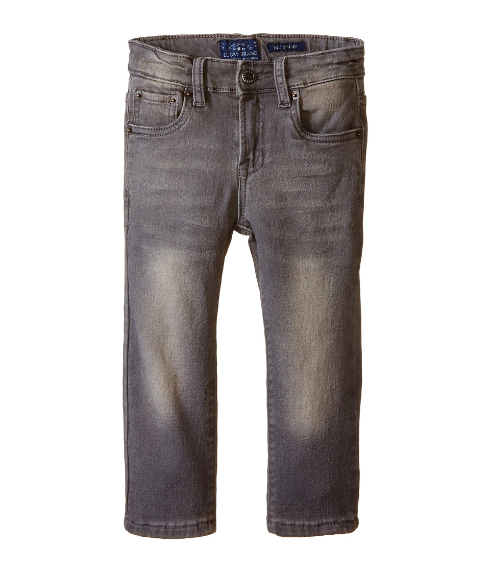 Lucky Brand Kids - Ultra Soft Denim in Lead Wash (Toddler) (Lead Wash) Boy's Jeans
