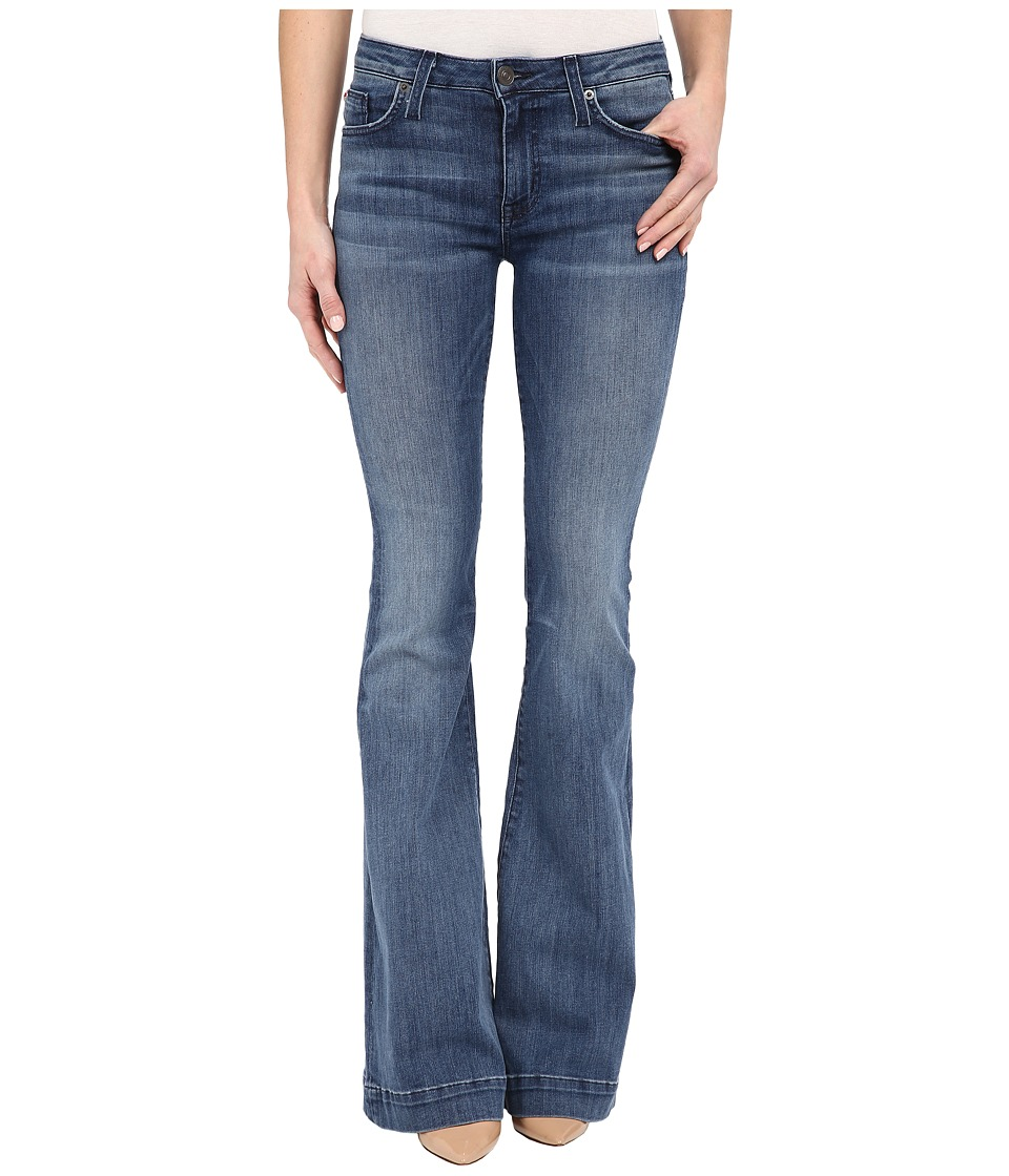 Hudson - Ferris Mid-Rise Flare in Mission Control (Mission Control) Women's Jeans
