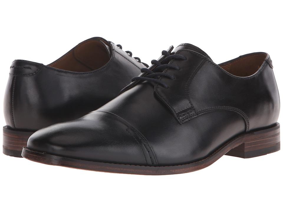 Bostonian Narrate Cap (Black Leather) Men