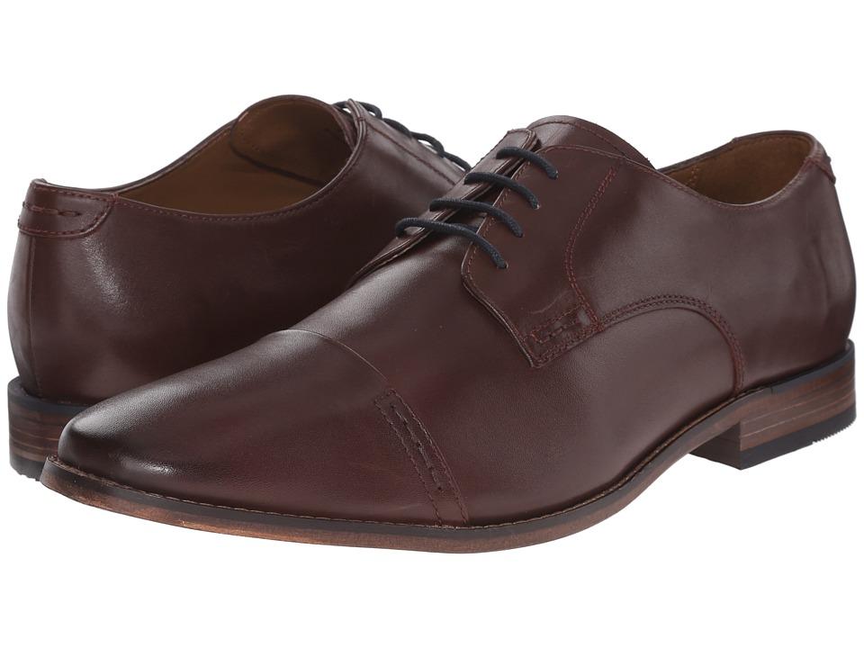 Bostonian Narrate Cap (Chestnut Leather) Men