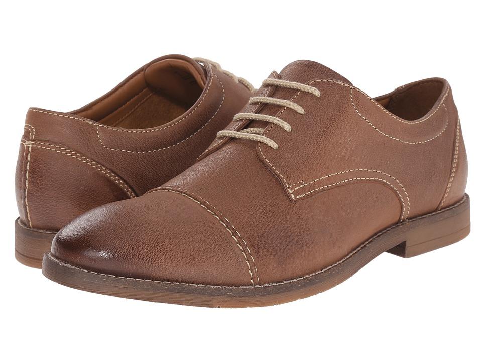 Bostonian - Verner Cap (Brown Leather) Men
