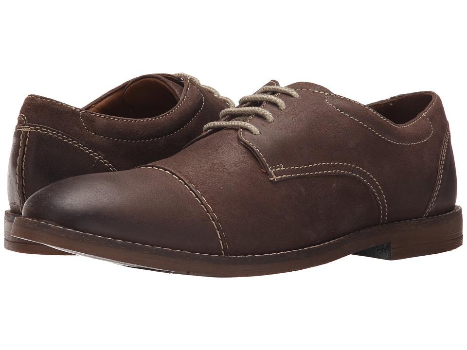 Bostonian - Verner Cap (Dark Brown Leather) Men