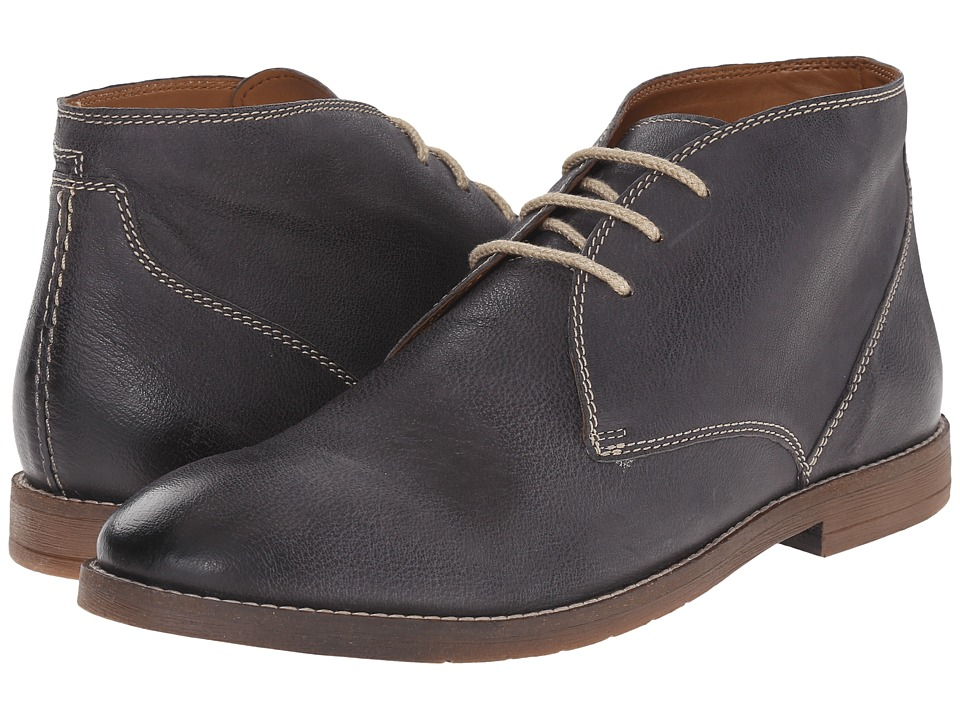Bostonian - Verner Style (Navy Leather) Men's Dress Lace-up Boots