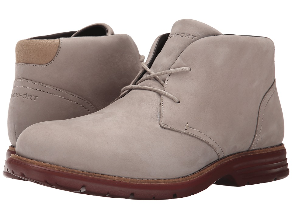 Rockport - Total Motion Fusion Desert Boot (Rocksand) Men's Dress Lace-up Boots