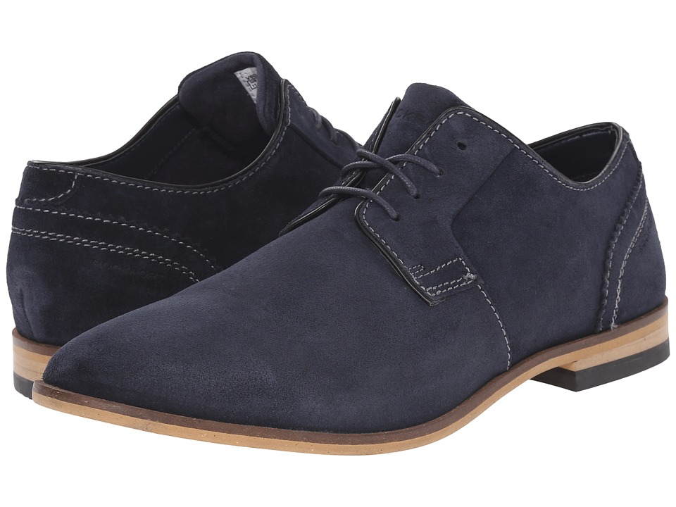 Rockport - Birch Lake Blutcher (New Dress Blues Suede) Men's Shoes