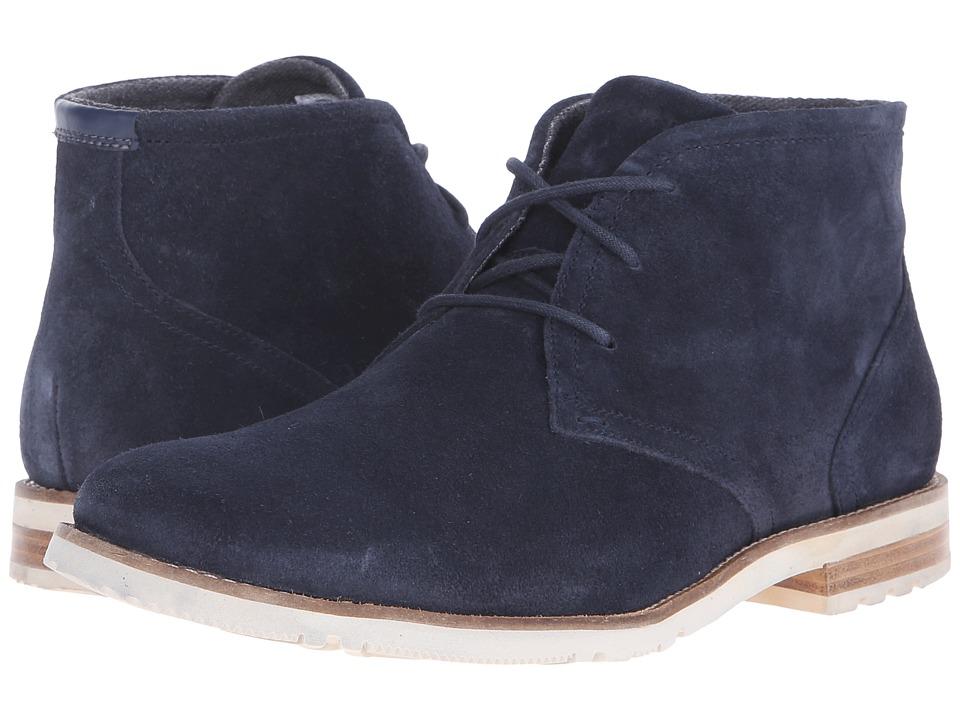 Rockport - Ledge Hill 2 Chukka Boot (New Dress Blues) Men's Boots