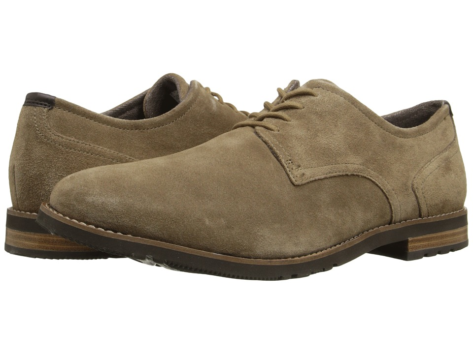Rockport - Ledge Hill Too Plain Toe Oxford (New Vicuna 2) Men's Plain Toe Shoes