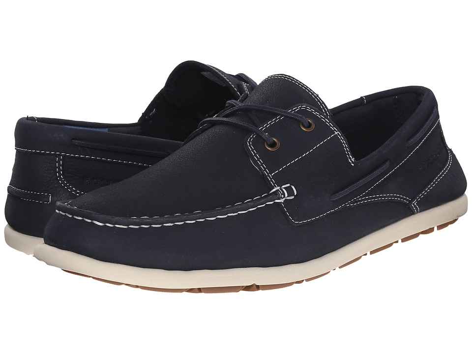 Rockport Bennett Lane 3 Boat (New Dress Blues) Men