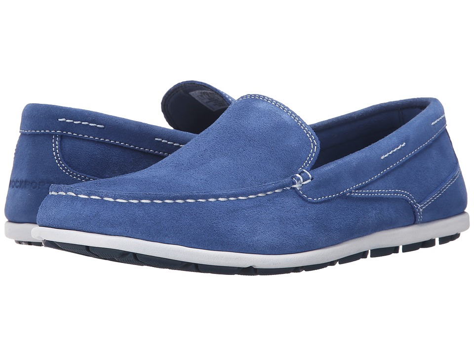 Rockport - Bennett Lane 3 Cape Noble 3 Venetian (Federal Blue) Men's Slip on Shoes