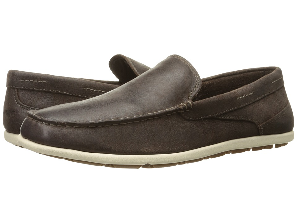 Rockport - Bennett Lane 3 Cape Noble 3 Venetian (Dark Bitter Chocolate) Men's Slip on Shoes