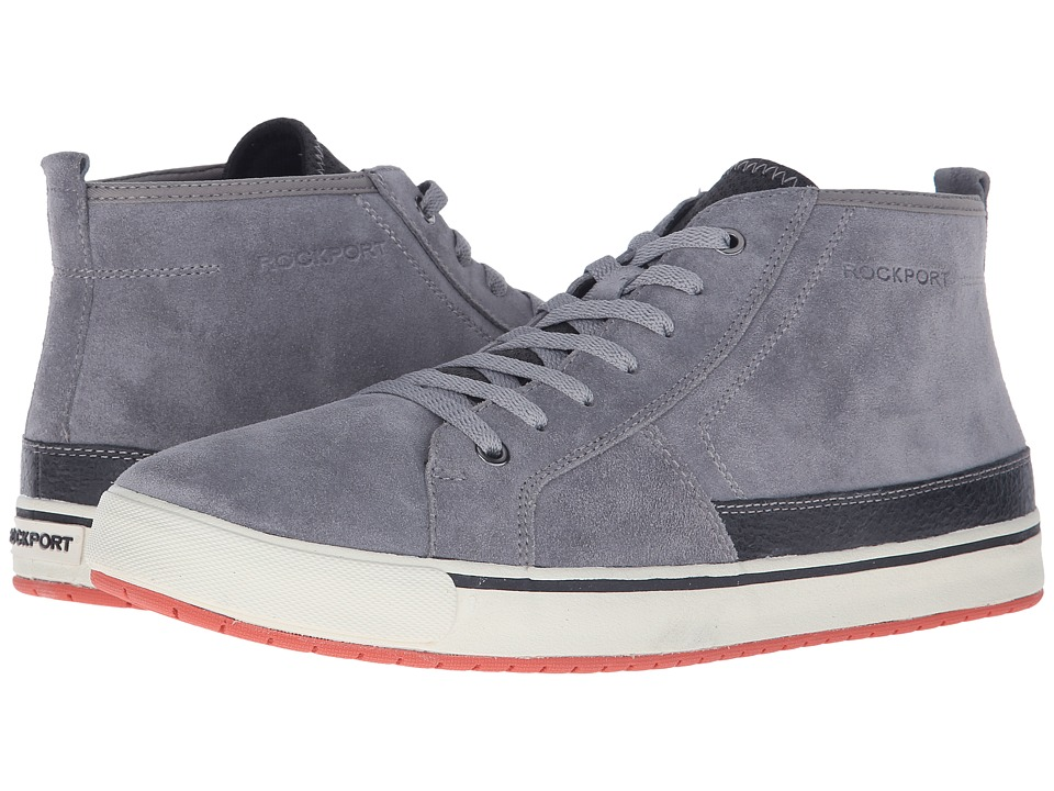 Rockport - Path to Greatness Chukka (Grey) Men's Lace-up Boots