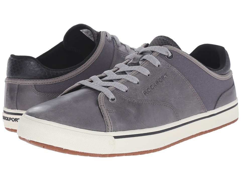 Rockport - Path to Greatness Lace to Toe (Grey) Men's Lace up casual Shoes