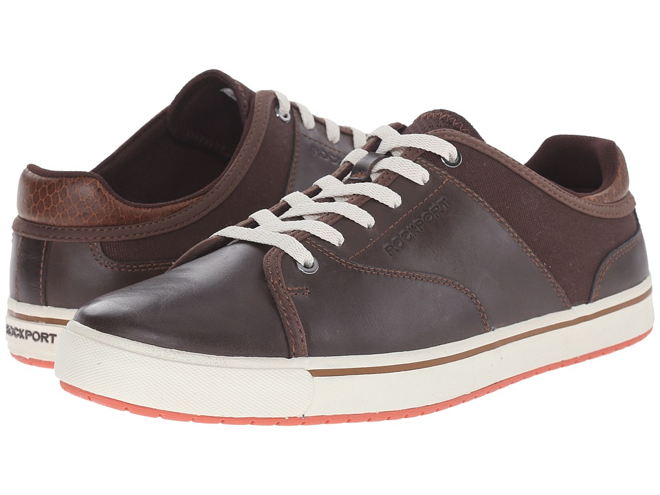 Rockport - Path to Greatness Lace to Toe (Brown) Men's Lace up casual Shoes