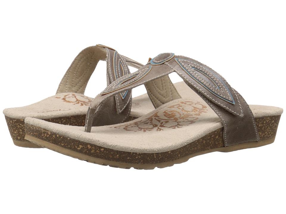 Aetrex - Terri (Stone) Women's Sandals