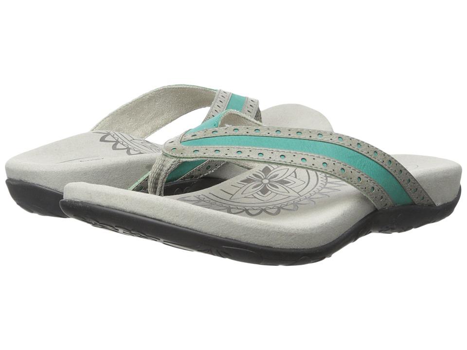 Aetrex - Kim (Turquoise) Women's Sandals