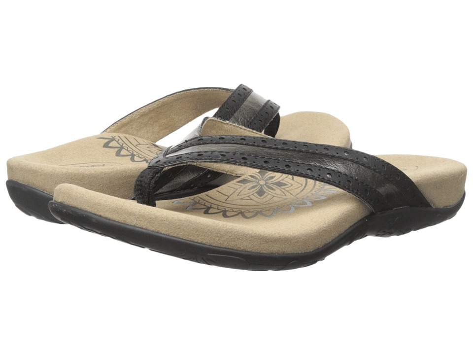 Aetrex - Kim (Brass) Women's Sandals