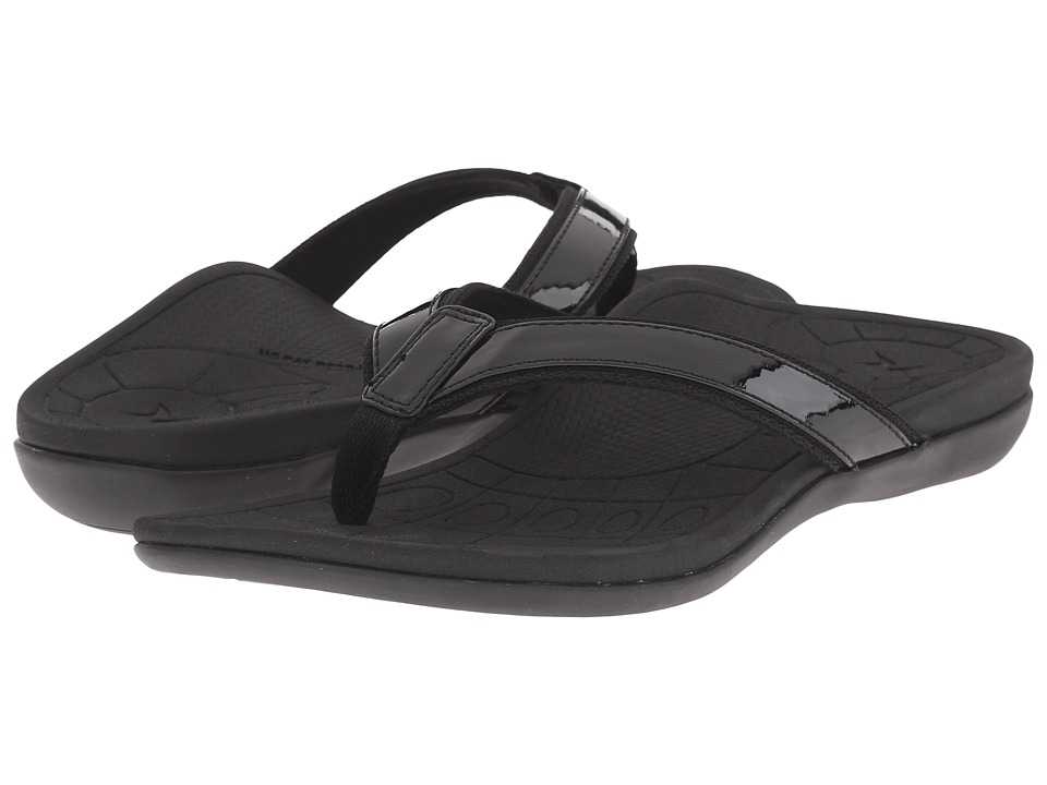 Aetrex - Venus (Black) Women's Sandals