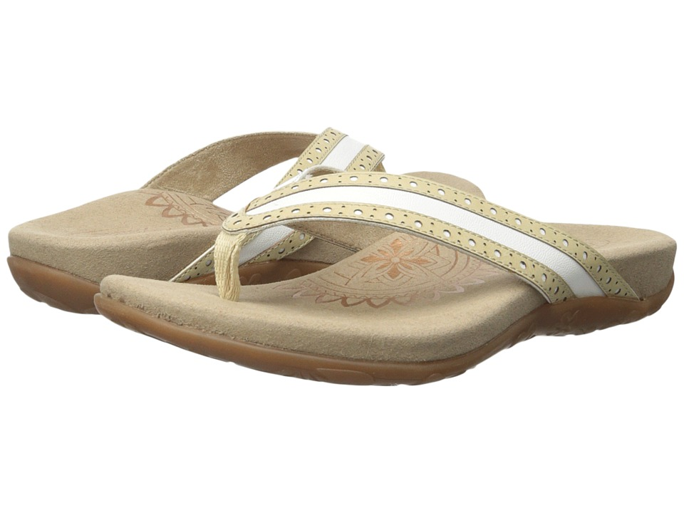 Aetrex - Kim (Cream) Women's Sandals