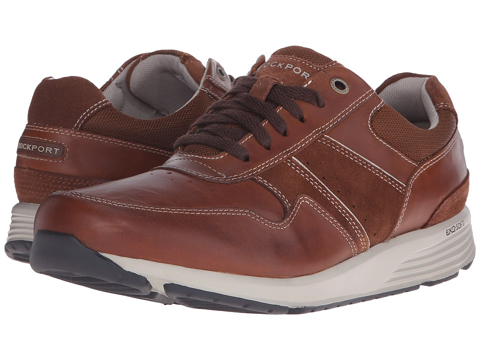 Rockport - Trustride Lace Up (Tan) Men's Lace up casual Shoes