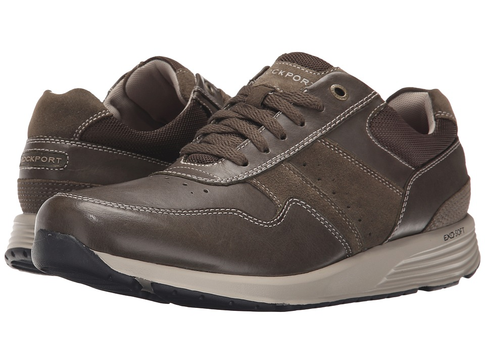 Rockport - Trustride Lace Up (Olive) Men's Lace up casual Shoes
