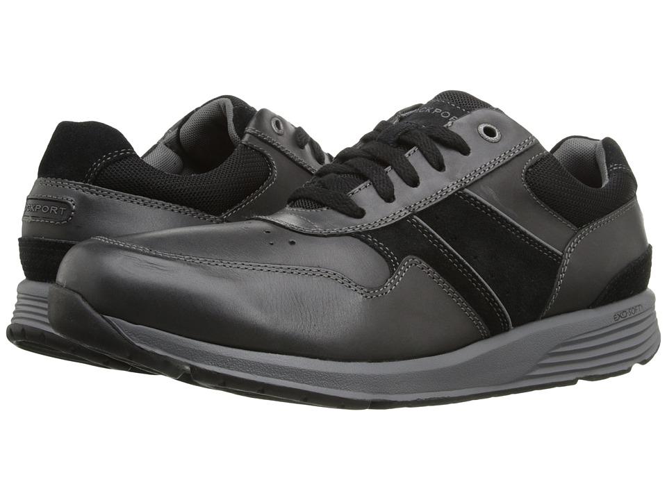 Rockport - Trustride Lace Up (Black) Men's Lace up casual Shoes