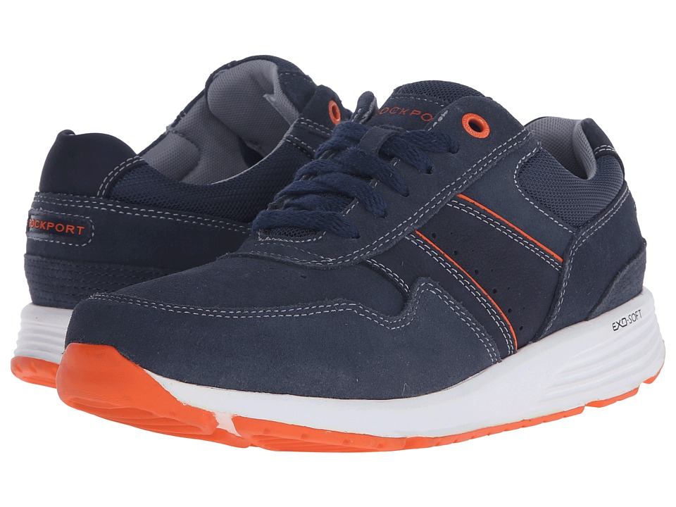 Rockport - Trustride Lace Up (Navy) Men's Lace up casual Shoes