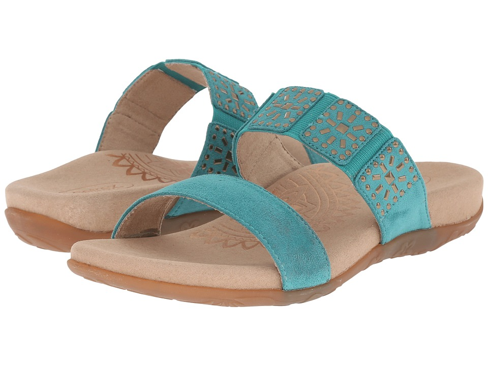 Aetrex - Macy (Teal) Women's Sandals