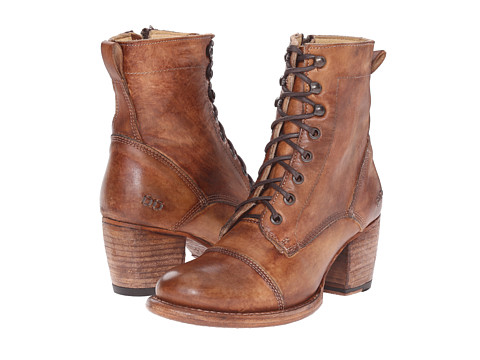 Bed Stu - Oath (Tan Driftwood) Women's Lace-up Boots