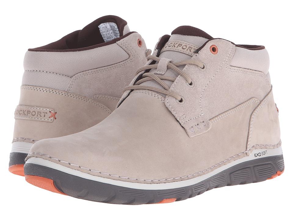 Rockport - Zonecrush Rocsport Lite Plain Toe Boot (Rocksand) Men's Lace-up Boots