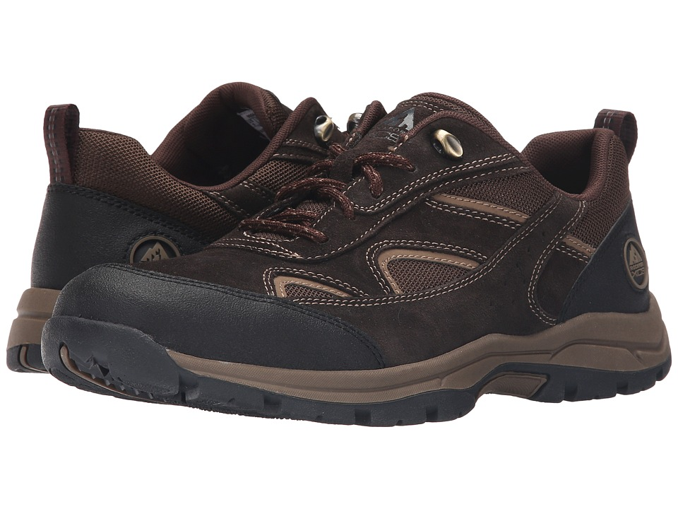 Rockport - Road Trial Ubal (Dark Bitter Chocolate Suede) Men's Lace up casual Shoes