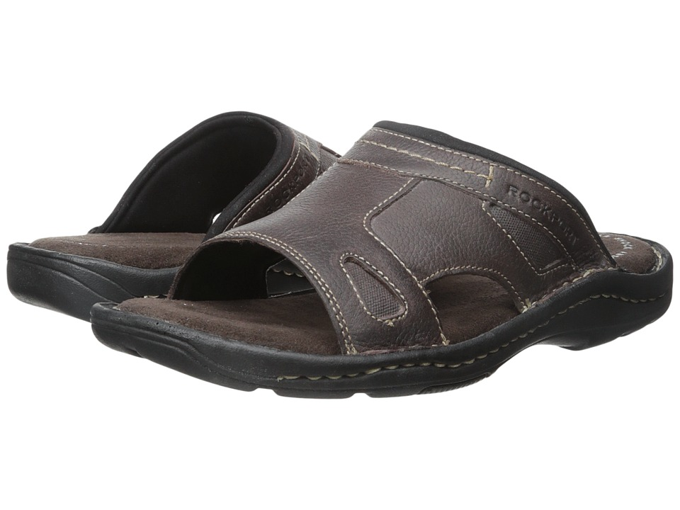 Rockport - Kevka Lake One Band (Coach Brown) Men's Sandals