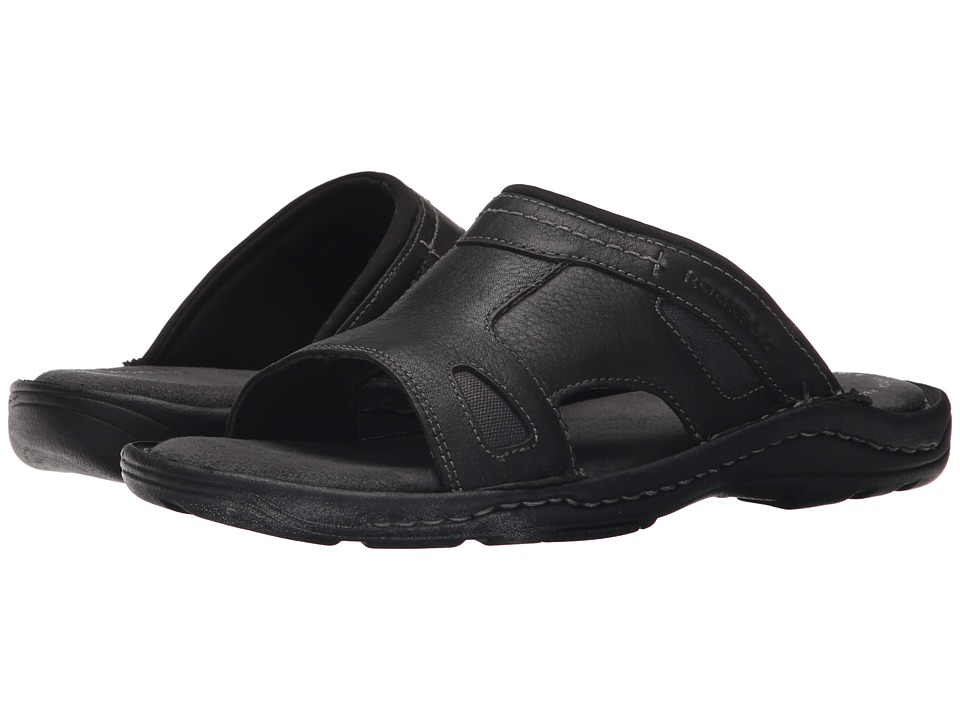 Rockport - Kevka Lake One Band (Black) Men's Sandals