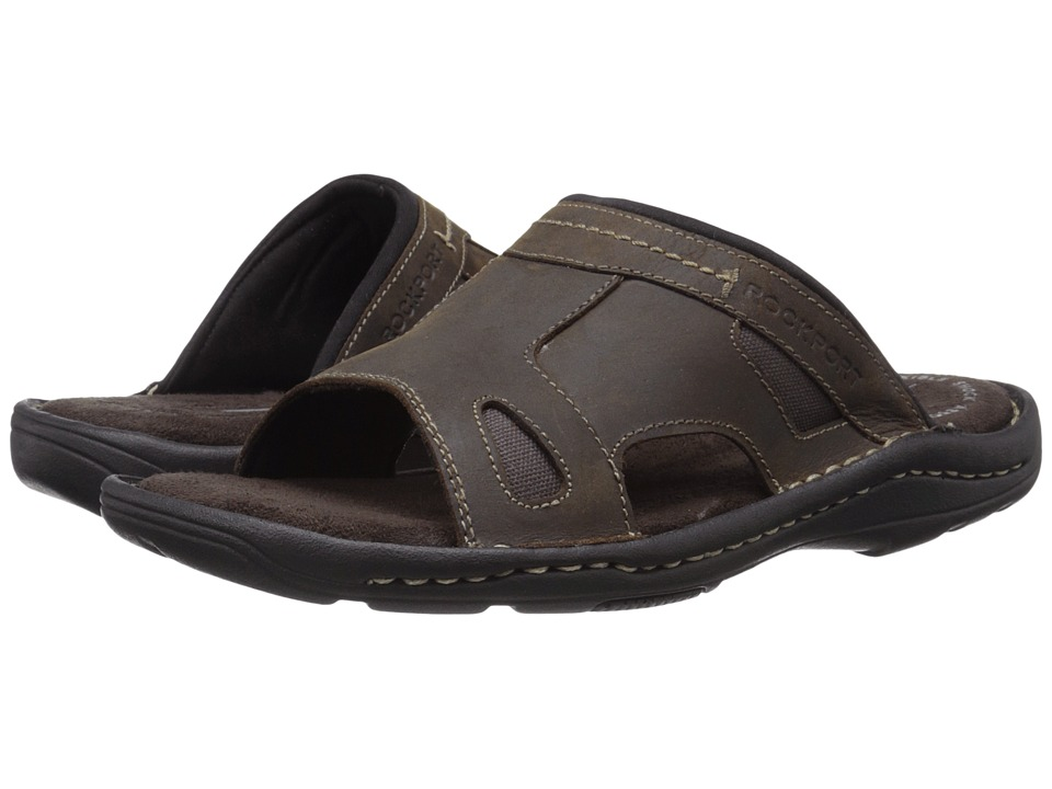 Rockport - Kevka Lake One Band (Brown II) Men's Sandals