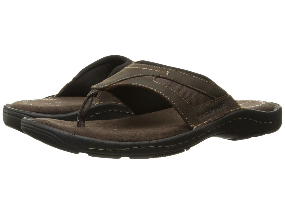 Rockport - Kevka Lake Thong II (Brown II) Men's Sandals
