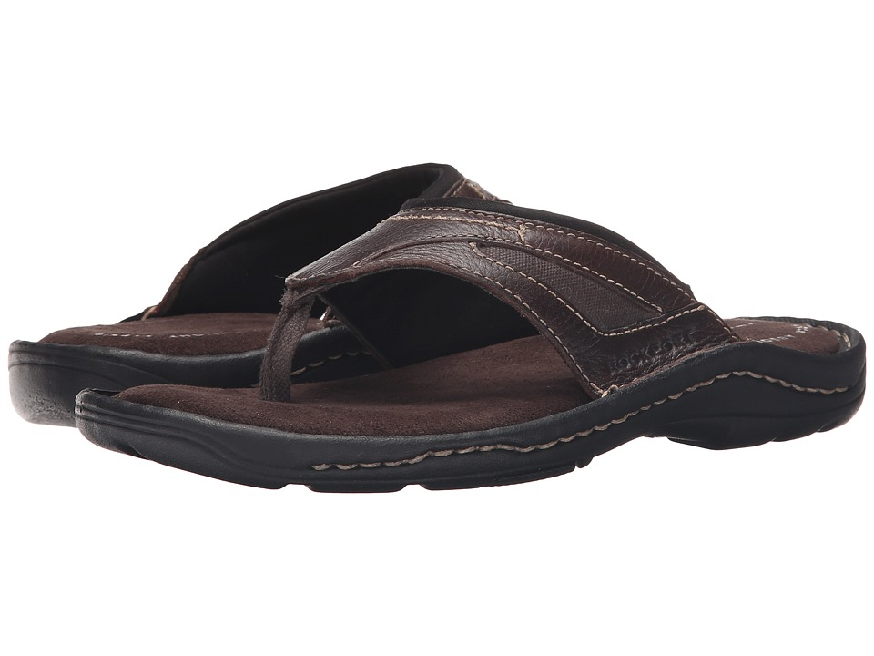 Rockport Kevka Lake Thong II (Coach Brown) Men