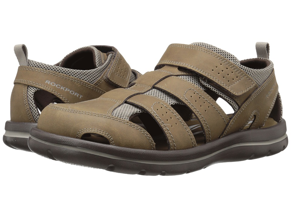 Rockport - Get Your Kicks Sandals Fisherman II (Tan) Men's Sandals