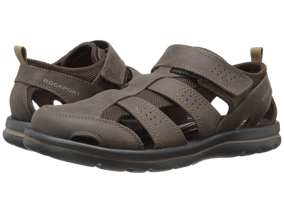 Rockport - Get Your Kicks Sandals Fisherman II (Coffee) Men's Sandals