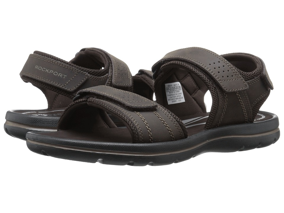 Rockport - Get Your Kicks Sandals QTR Strap (Coffee) Men's Sandals