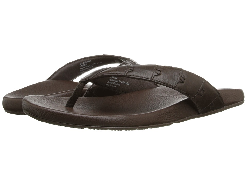 Tommy Bahama - Relaxology Dalaway (Dark Brown) Men's Sandals