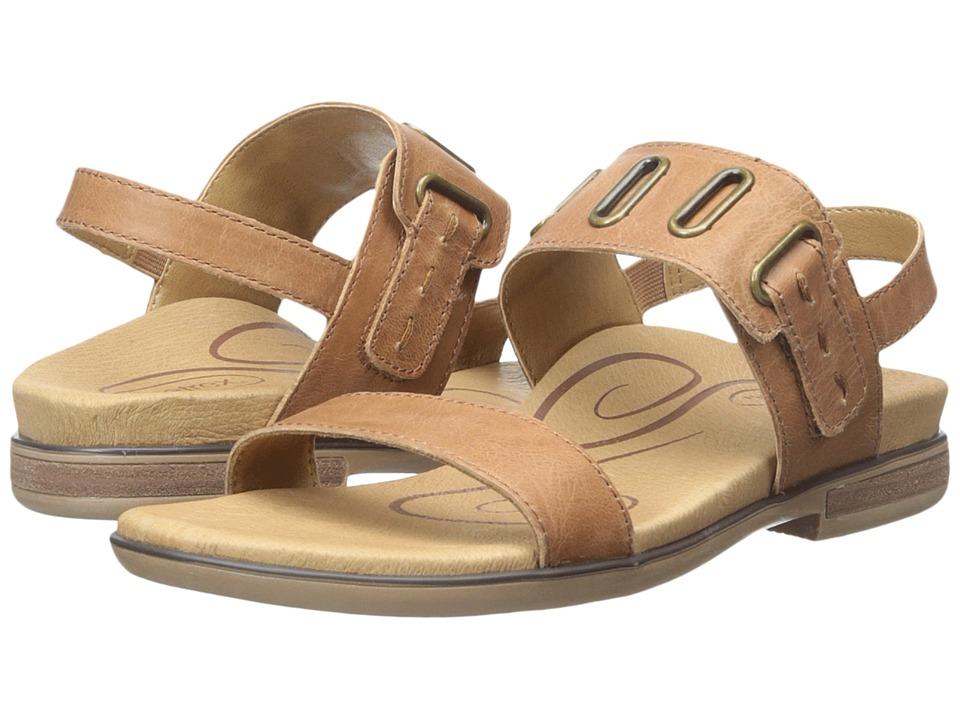 Aetrex - Eileen (Cognac) Women's Sandals