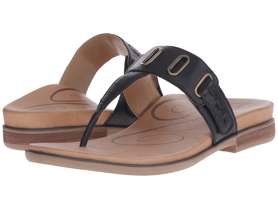 Aetrex - Zara (Black) Women's Sandals