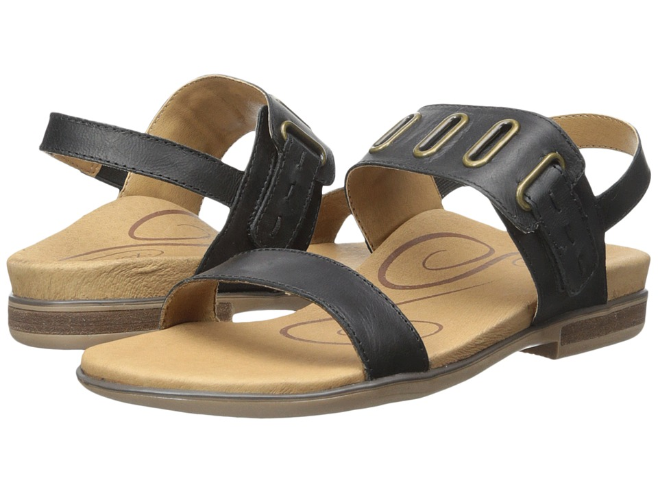 Aetrex - Eileen (Black) Women's Sandals
